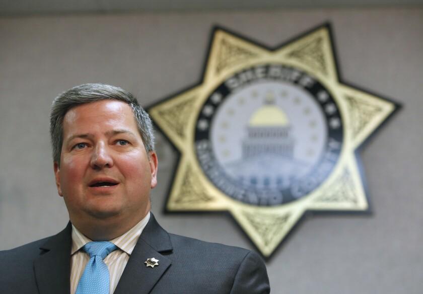 Sacramento County Sheriff Scott Jones