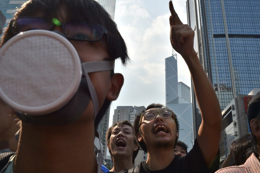 For Hong Kong's anxious elite, the U.S. isn't the top escape route