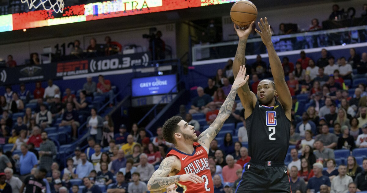 Clippers clamp down on defense in fourth quarter to beat Pelicans