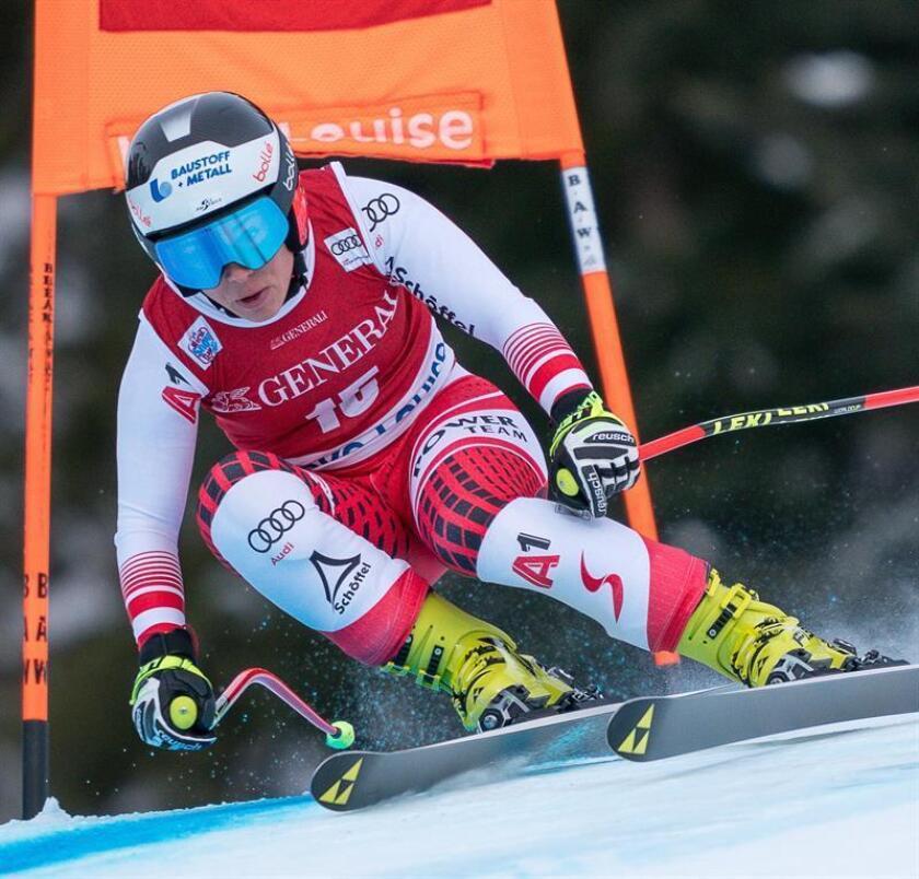En la imagen, austríaca Nicole Schmidhofer. EFE
