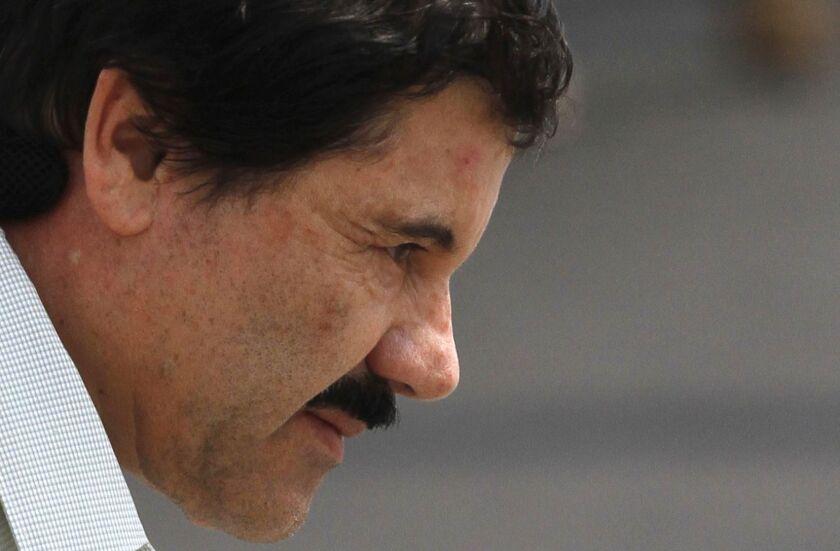 Joaquín 'El Chapo' Guzmán.