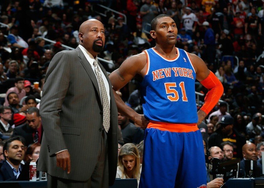 Mike Woodson, Metta World Peace