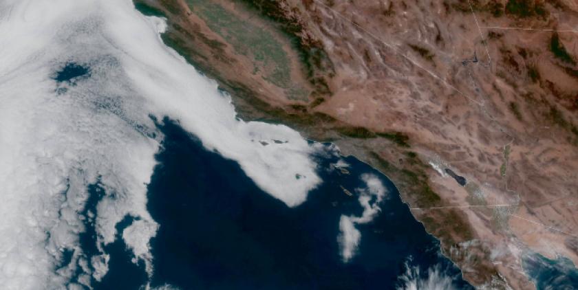 Tropical moisture heading for San Diego