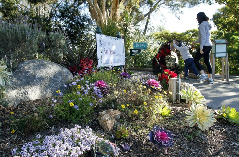 The San Diego Botanic Garden is just one of many institutions participating in Museum Month.
