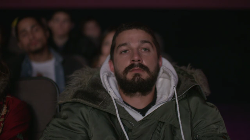 Shia LaBeouf watches a marathon of his own movies as part of '#ALLMYMOVIES'