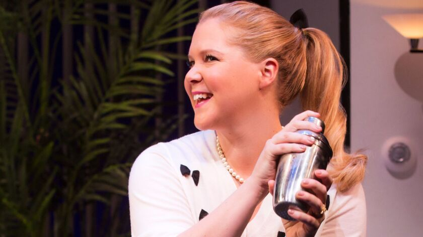 "In her Broadway debut, Amy Schumer generates laughs in ""Meteor Shower,"" but a funny cast can't compensate for deficiencies in the playwriting."
