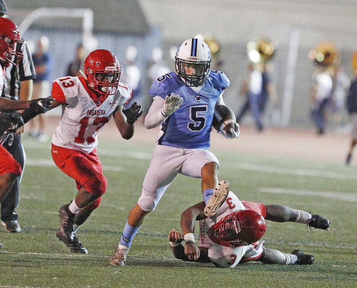 Photo Gallery: Crescenta Valley vs. Pasadena in Pacific League football