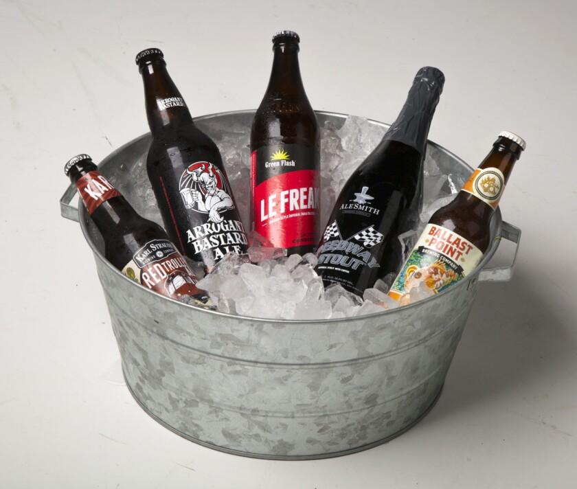 Five San Diego beers