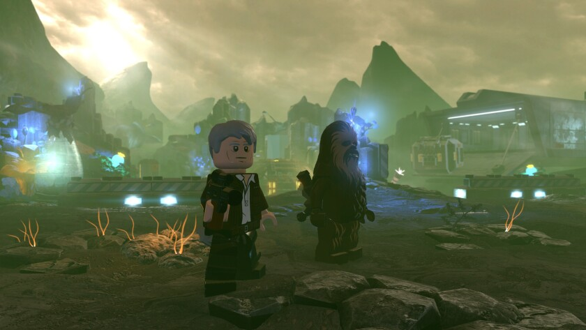 "Hunt Rathtars in ""Lego Star Wars: The Force Awakens,"" one of the original stories found in the game."