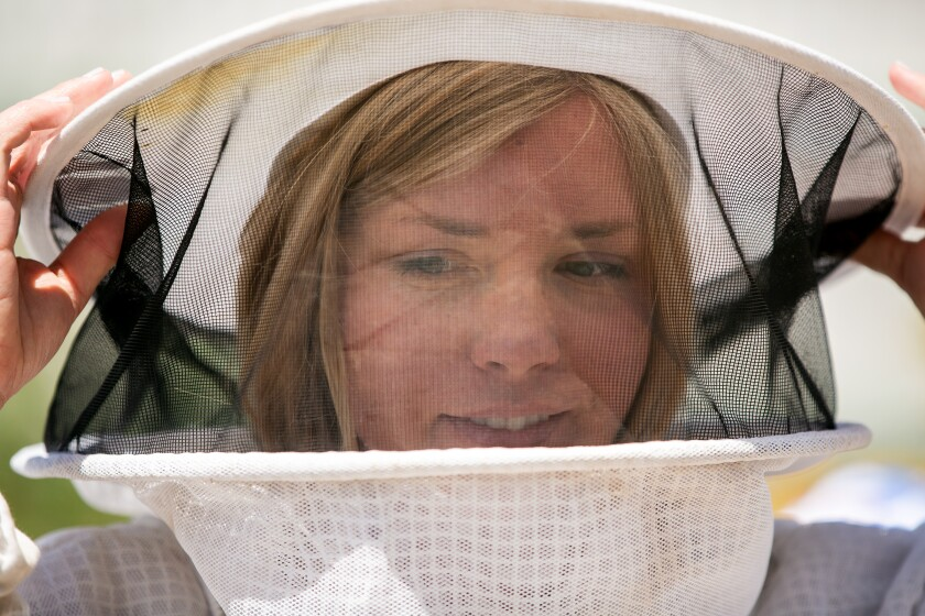 Girl Next Door Honey breathes new life into ancient art of beekeeping - The San Diego Union-Tribune