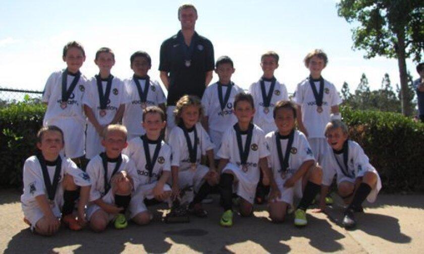 Boys Under 9 Manchester team
