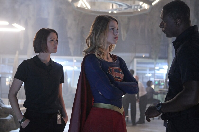 "CBS' ""Supergirl"" had a 33.8% viewer awareness score, according to the most recent data compiled by Ipsos MediaCT."