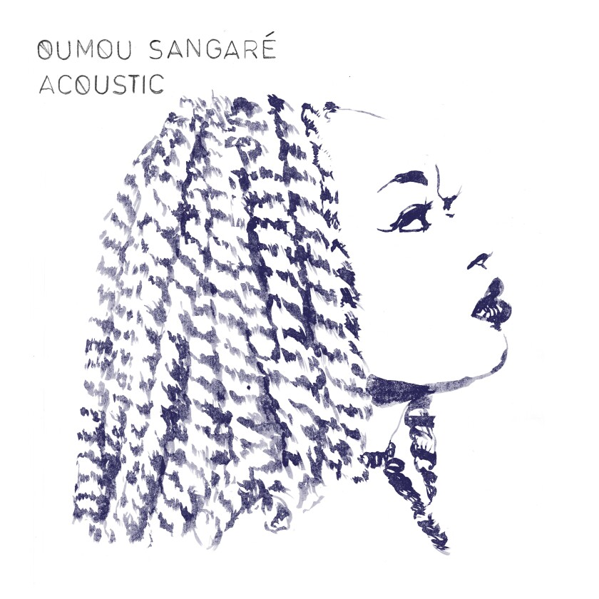 """This cover image released by No Format! shows """"Acoustic,"""" a release by Oumou Sangaré. (No Format! via AP)"""