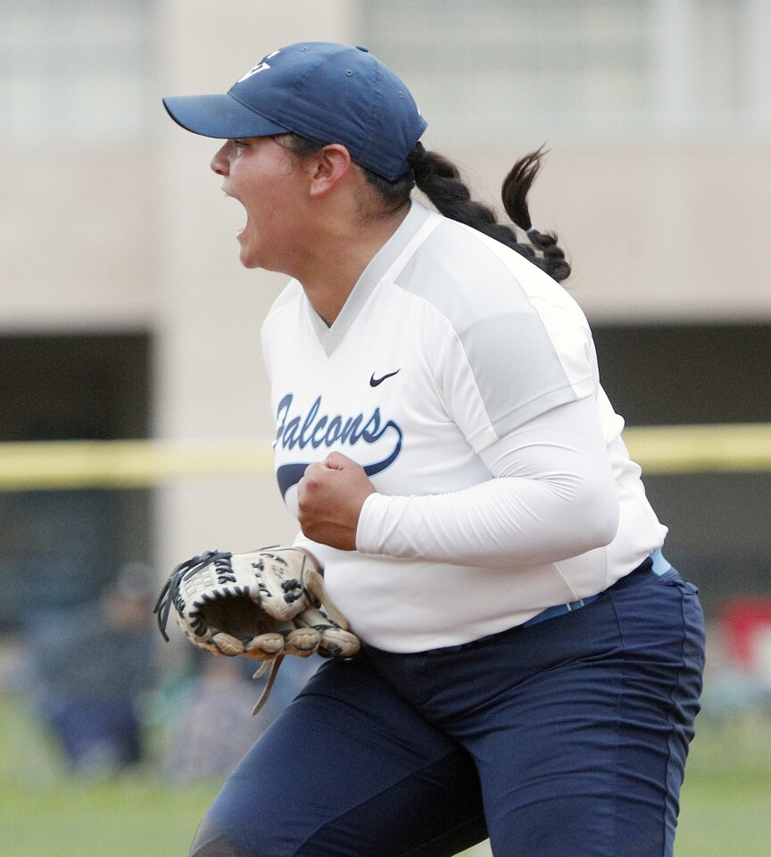 Photo Gallery: Crescenta Valley softball defeats Glendora in CIF Southern Section Division III second-round