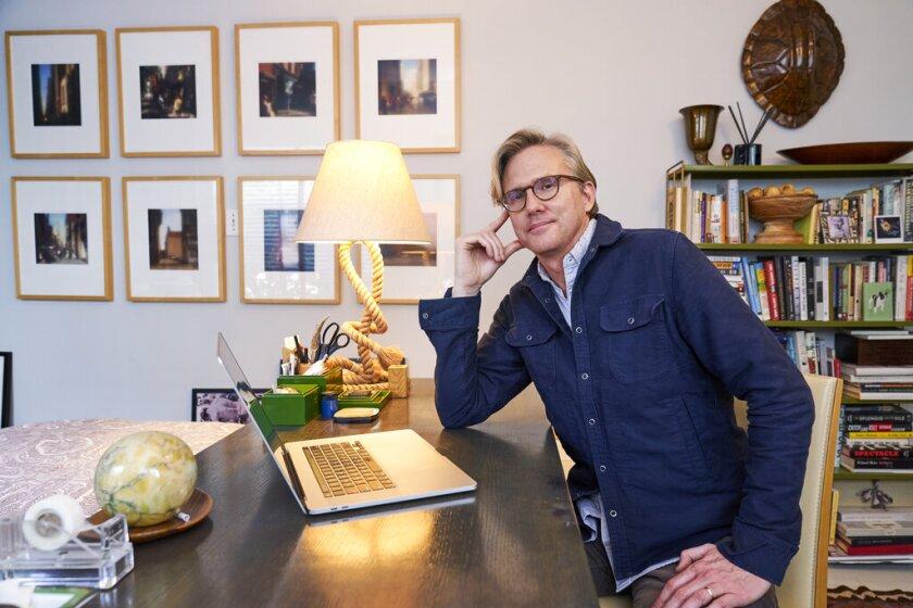 Jon Brockett, productor de la 27ma entrega anual de los Premios SAG que se transmitirá el domingo a las 6 p.m. por TNT y TBS.