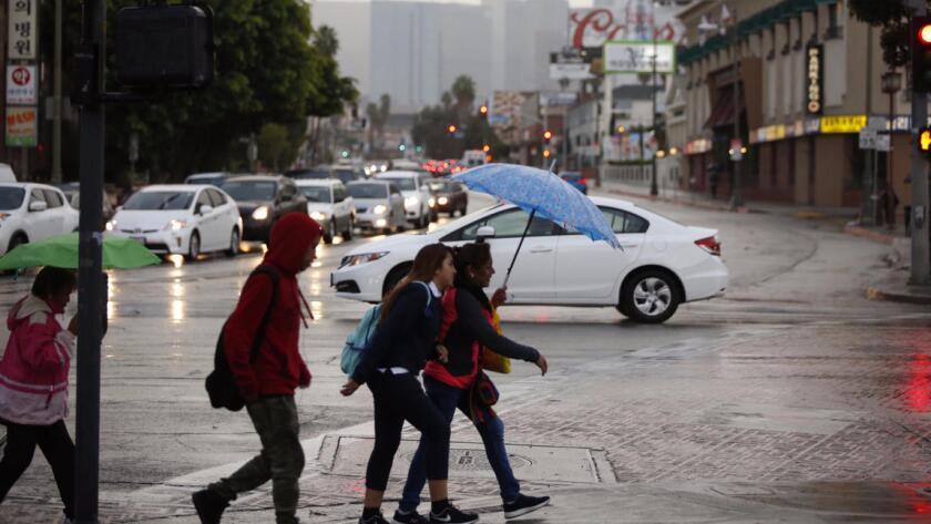 La mayor parte de la lluvia se espera que caiga principalmente el viernes por la tarde, a un ritmo promedio de más de una pulgada por hora.