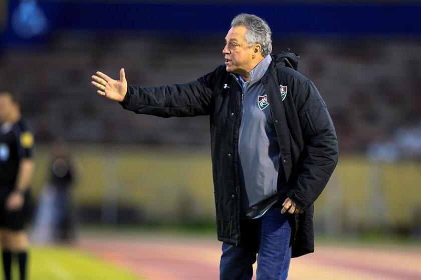 En 2004, Braga dirigió la formación carioca durante 44 partidos y acumuló un balance de 19 victorias, 13 derrotas y 12 empates, además de conquistar el título del Campeonato Carioca y el segundo puesto en la Copa do Brasil ese año. EFE/Archivo