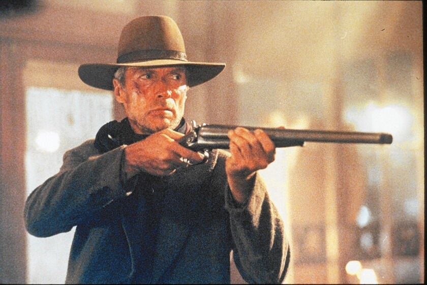 "Clint Eastwood in ""Unforgiven."""