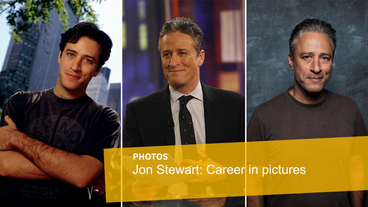 Jon Stewart | Career in pictures