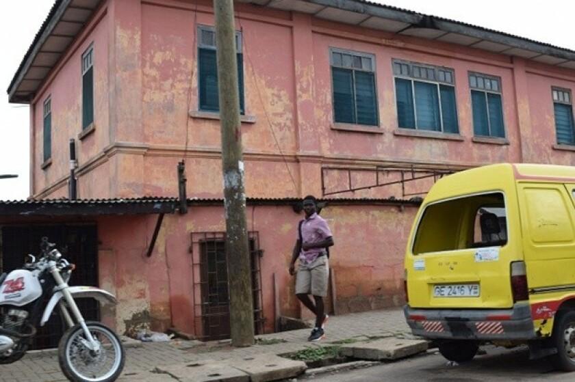 Fake embassy in Ghana