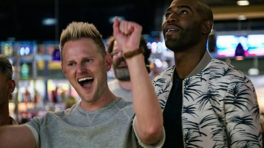 "Bobby Berk and Karamo Brown in the second season of ""Queer Eye"" on Netflix."
