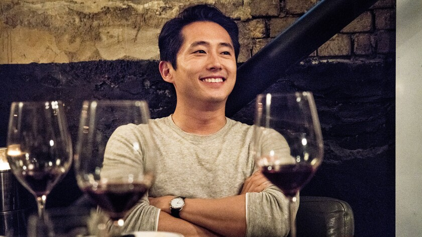 "This image released by Well Go USA Entertainment shows Steven Yeun in a scene from ""Burning."" Yeun i"