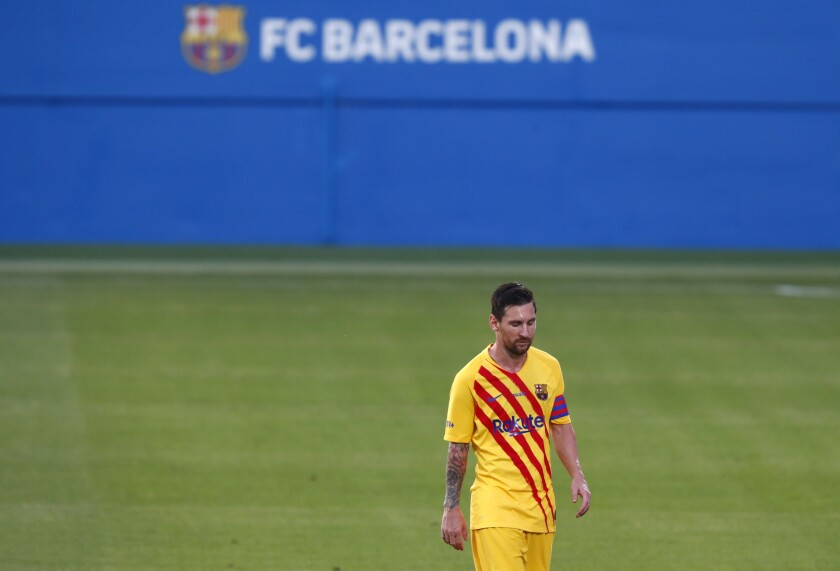 Argentina Coach Glad Messi Resolved Barcelona Issues The San Diego Union Tribune
