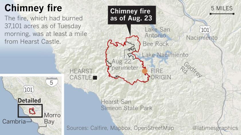 California wildfire updates: Fast-moving fire in Santa Cruz