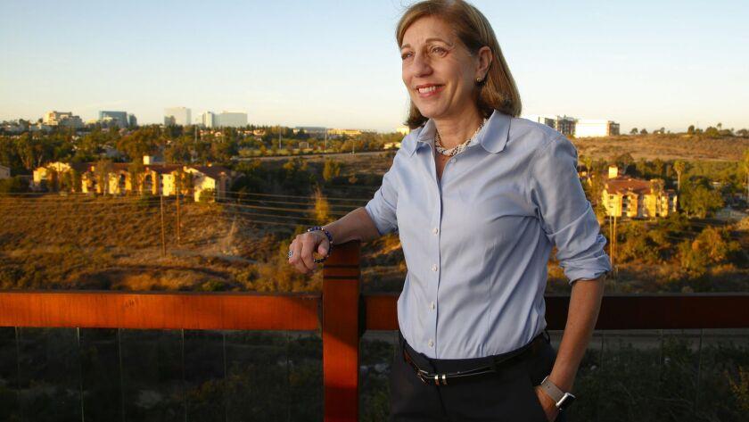 San Diego City Councilwoman Barbara Bry