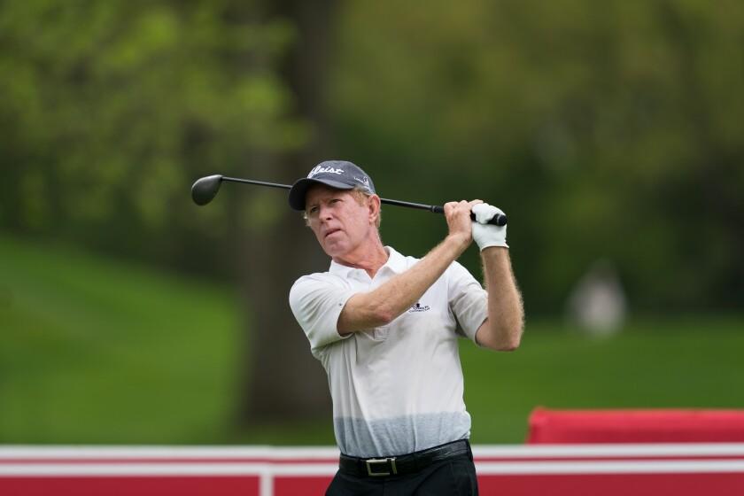 Jeff Hart at the 2019 Senior PGA Championship.