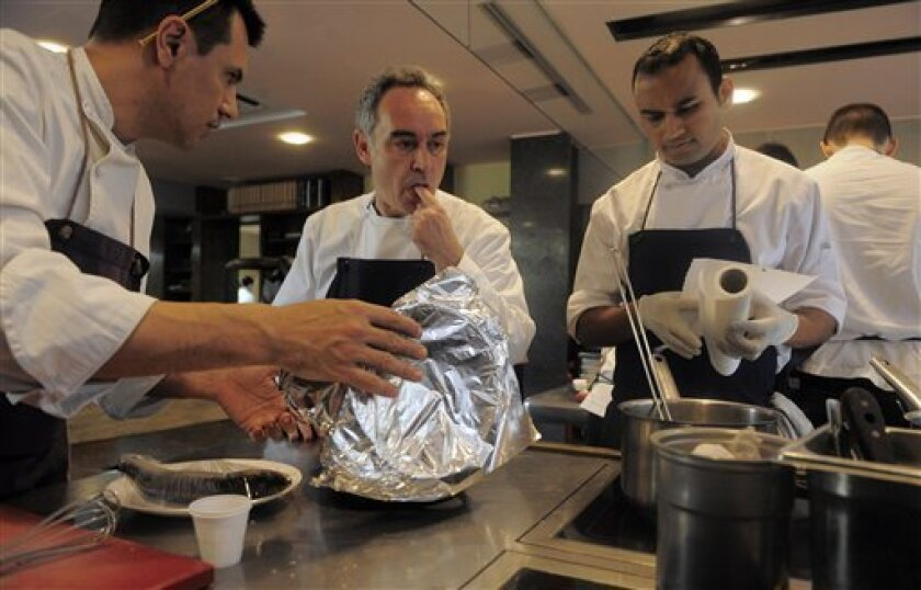 Famous Spanish Restaurant El Bulli Shuts For Now The San