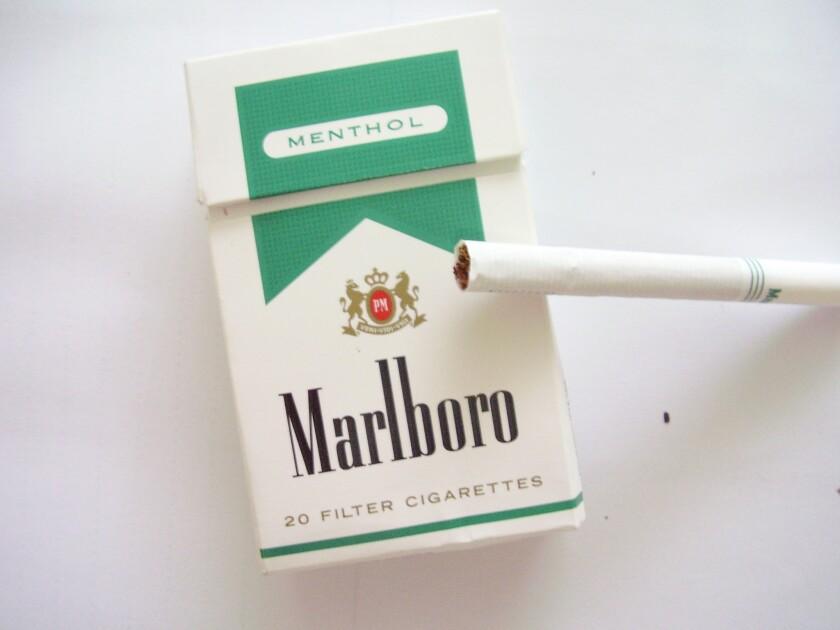 Marlboro menthol-flavored cigarettes