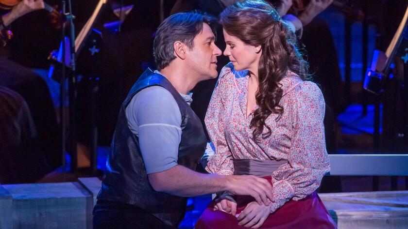 "Nathan Gunn and Kelli O'Hara in ""Carousel"""