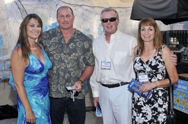KC and Chris Vafiadis, Glenn Danniberg, Judy McCarron
