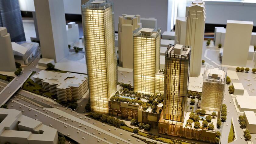 El centro de Los Ángeles y un auge de construcción que no ocurría desde 1920