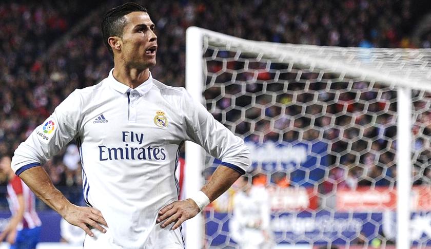 Cristiano Ronaldo, delantero del Real Madrid.