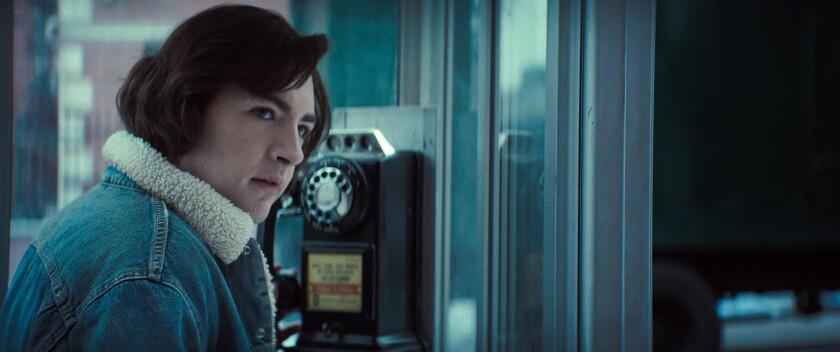 MICHAEL GANDOLFINI as Teenage Tony Soprano