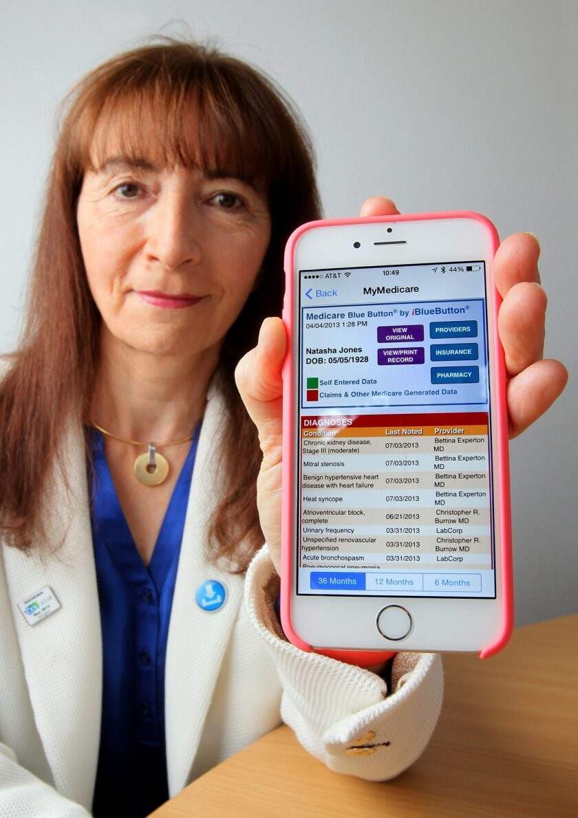 iBlueButton has won three innovation awards from federal health agencies.