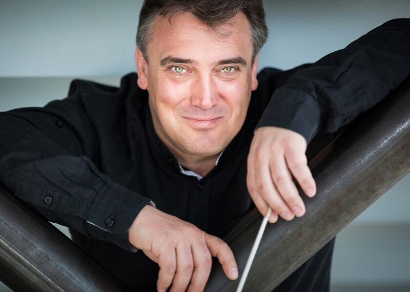 Los Angeles Chamber Orchestra music director Jaime Martín