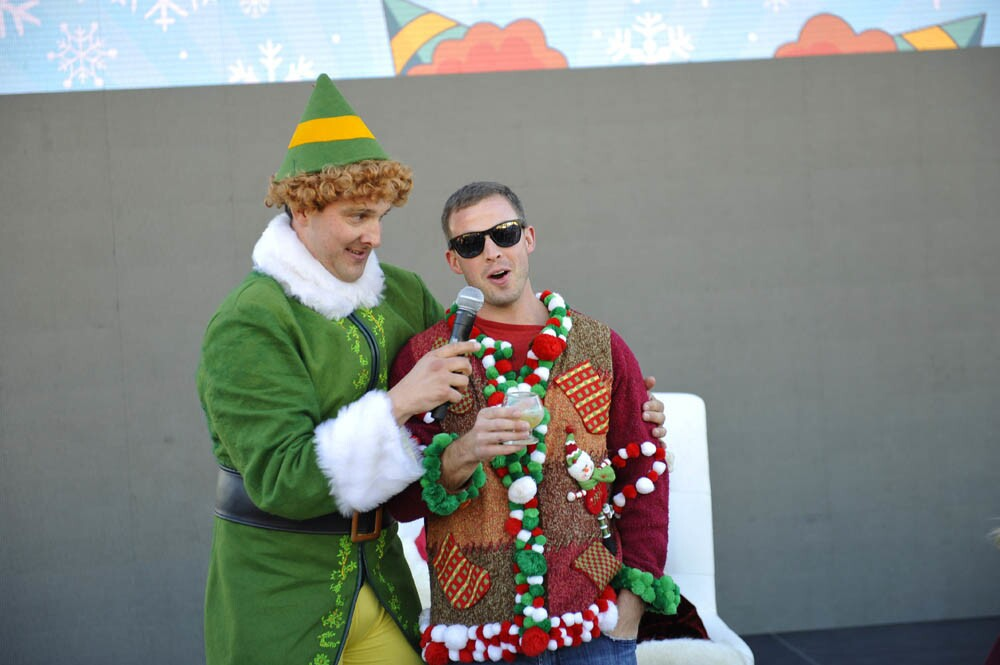 Carols and Barrels celebrated all things beer and wine at The Port Pavilion on Broadway Pier, Saturday, Dec. 3, 2016. (Jared Gase)
