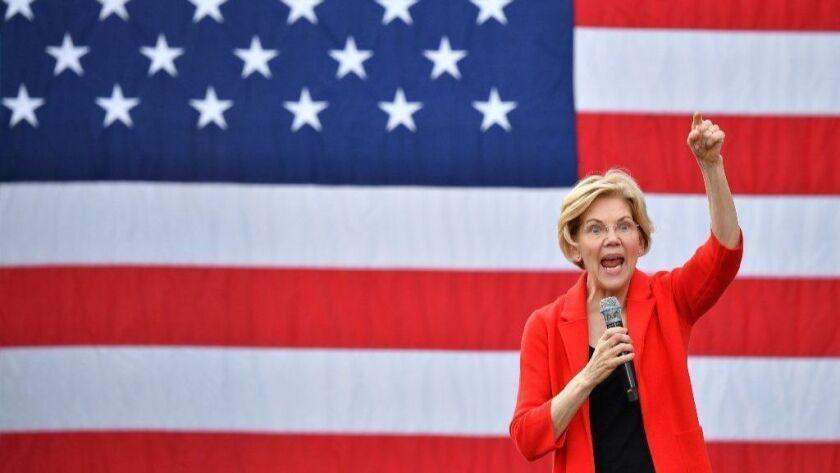 TOPSHOT-US-POLITICS-VOTE-2020-WARREN
