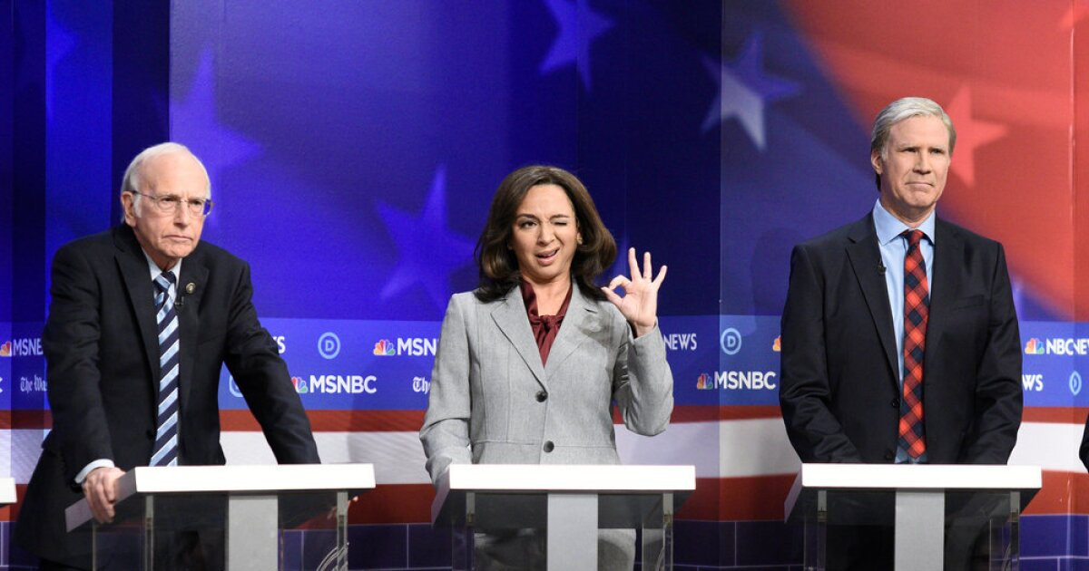 Why Kamala Harris Benefits From Maya Rudolph S Snl Parody Los Angeles Times