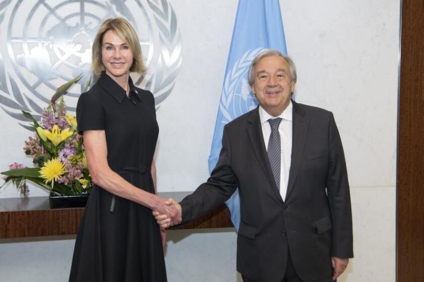 La nueva embajadora de EE.UU. desembarca en la ONU con un mensaje conciliador