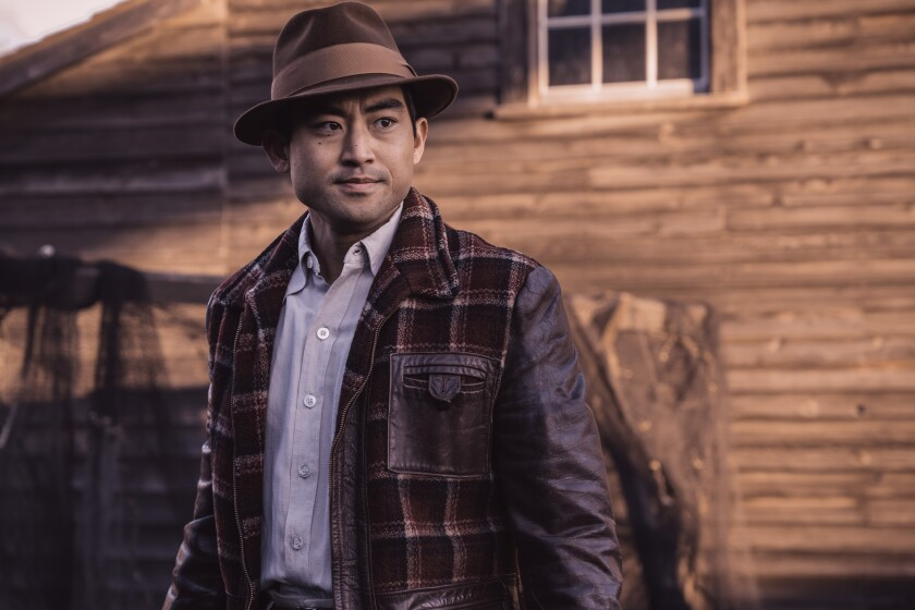 """Like his character in """"The Terror: Infamy,"""" actor Derek Mio's family once lived on Terminal Island off the coast of California — before being rounded up and sent to internment camps in World War II."""