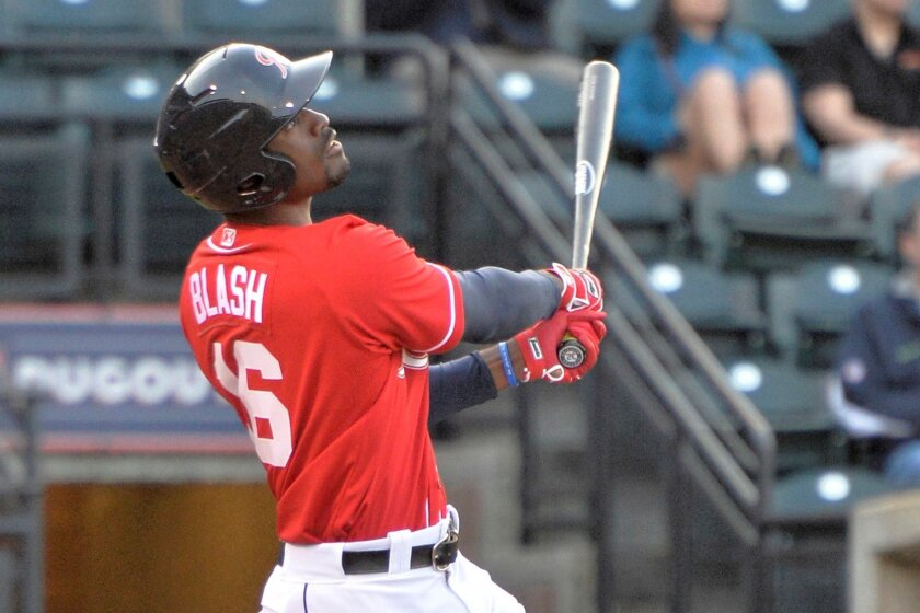 Outfielder Jabari Blash belted 32 homers while splitting time between the Mariners' Double-A and Triple-A affiliates.