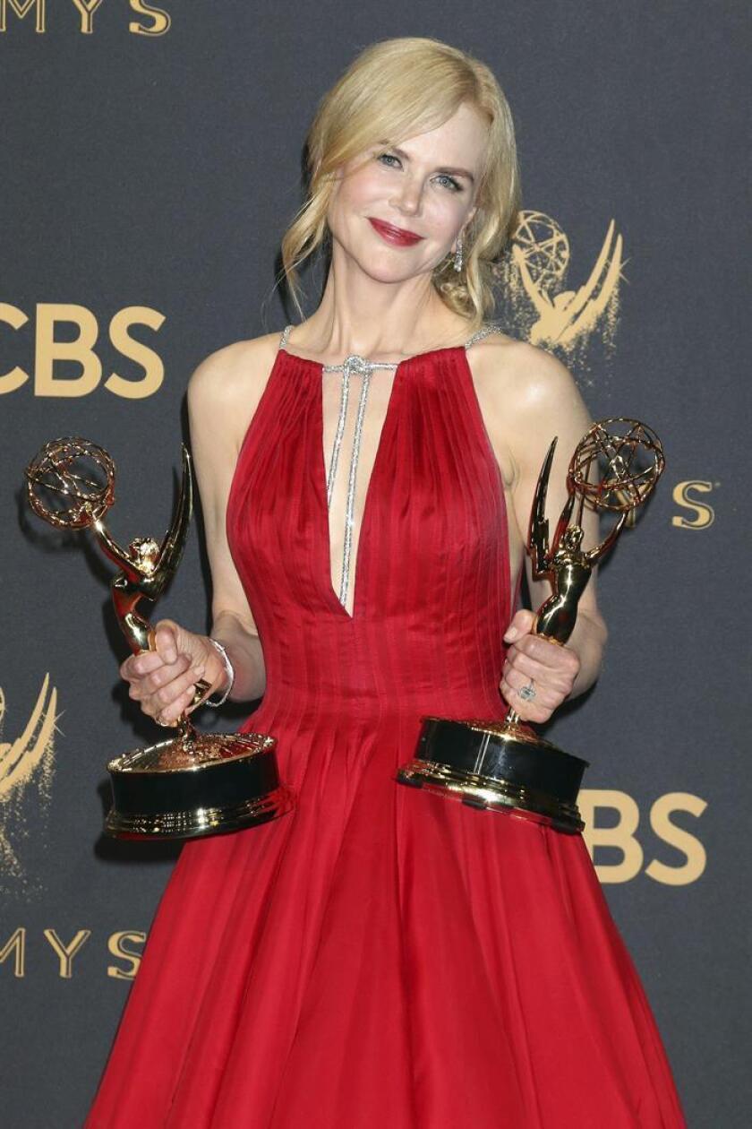 """La cadena de pago HBO confirmó hoy que uno de sus grandes éxitos del año, la miniserie """"Big Little Lies"""", protagonizada por Nicole Kidman y Reese Witherspoon, regresará para una segunda temporada que estará compuesta por siete capítulos. EFE/ARCHIVO"""