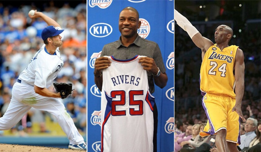 Things are in motion to make this fall one of the best sports seasons L.A. has ever seen if the Dodgers are able to make a World Series run, Doc Rivers helps deliver the Clippers and Kobe Bryant makes a comeback from an Achilles' tendon injury.