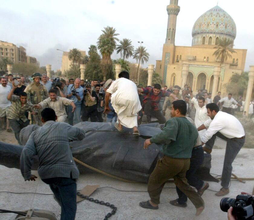 Regime change in Iraq