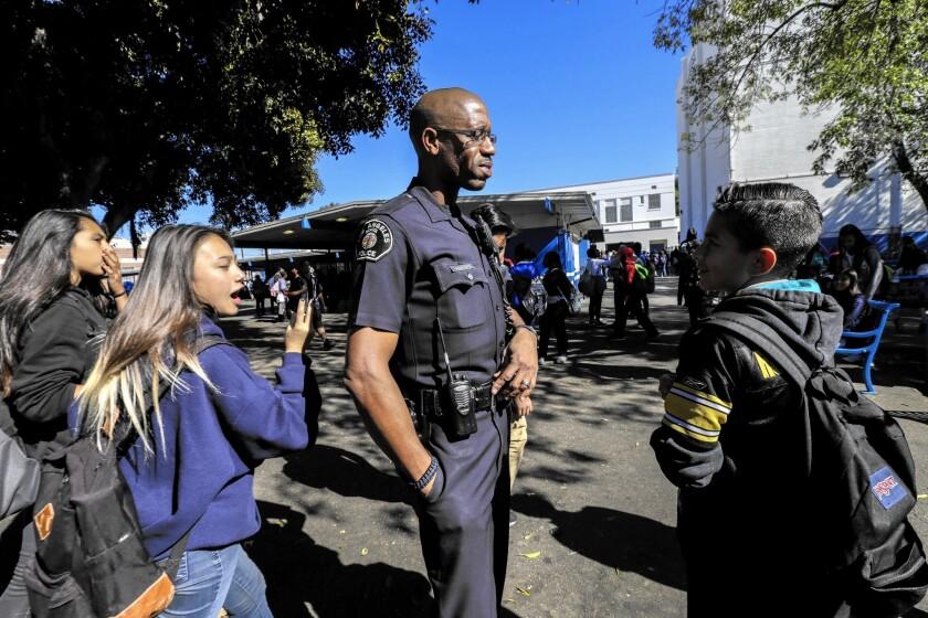 L.A. school police