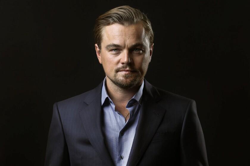 Leonardo DiCaprio at the Four Seasons hotel in Los Angeles.